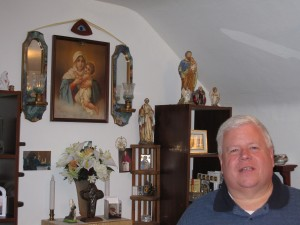 MPH Fr Joseph Visit to Mechler Home Shrine