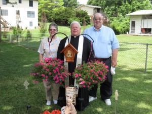 Backyard Shrine Fr & Family 3